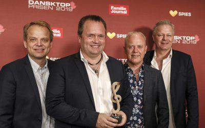 Kandis vinder af 'Årets Dansktop Album' ved Dansktop Prisen 2019
